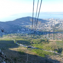 table mountain cable car down