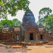 Angkor temple entrance ruins