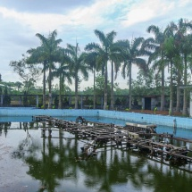 abandoned waterpark foutnains