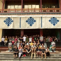 monastery group picture