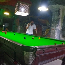 Chandigarh-tries to play snooker