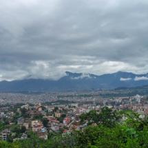 Kathmandu-view mountains