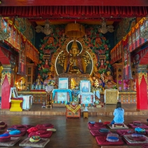 Kopan-meditation hall wide