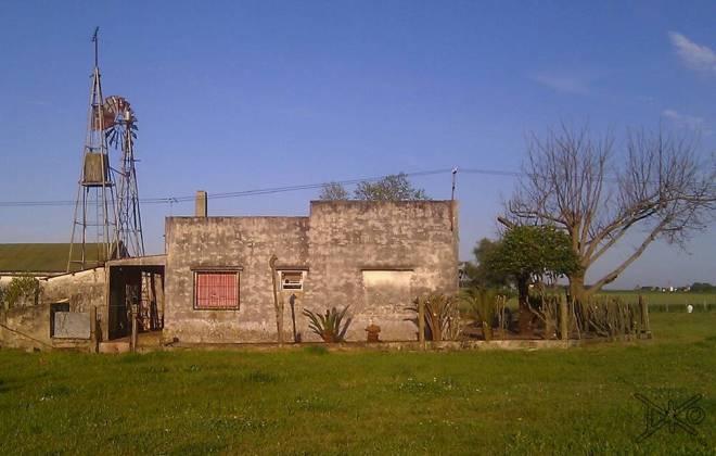 Wohnhaus auf Farm