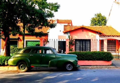 Straße in Belgrano