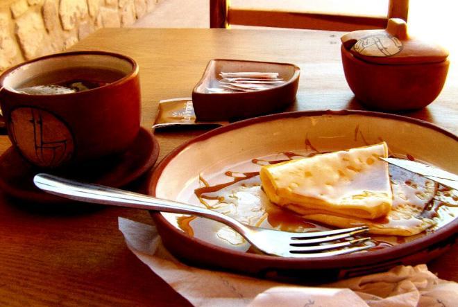 Käse mit Sirup in Purmamarca