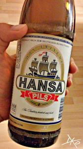 Flasche Hansa Pils
