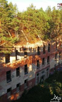 Ruine der Beelitz-Heilstätten