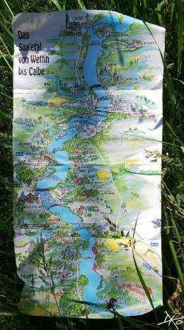 Karte-Saaletal-Wettin-Calbe-Kanutour