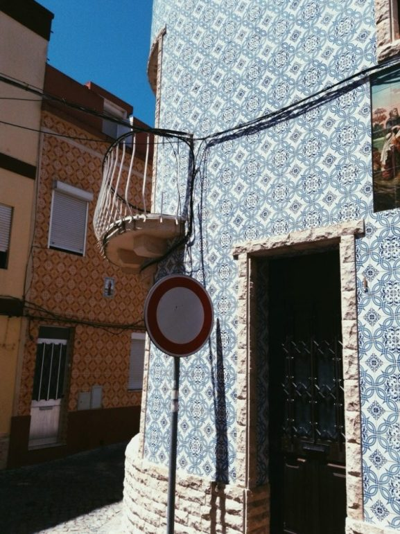 best place for tiled houses in Portugal - Figueira da Foz