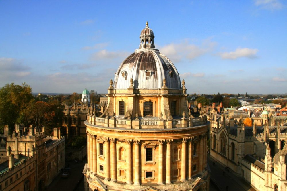 Oxford is full of sights and if you climb high enough you get the best view of this old old city.