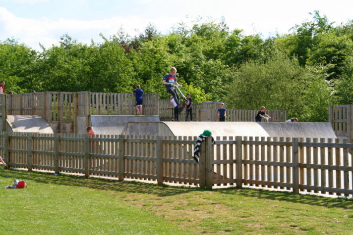 Rushcliffe Country Park is the perfect place to take boys. They can watch the steam trains, play table tennis or use the skate park