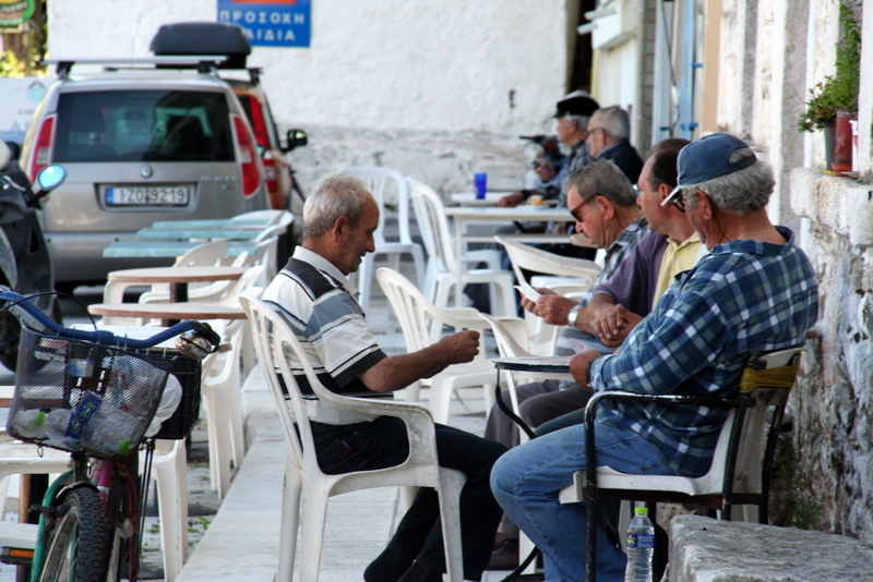 Thassos town is full of culture and there are plenty of opportunities to see how the locals live