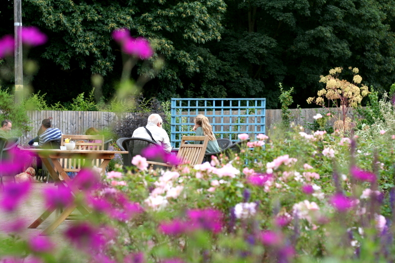 cafe garden at clumber park nottingham