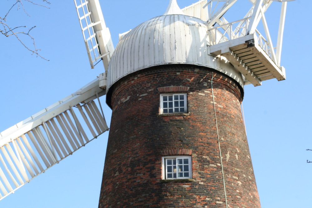 Green's Windmill - Nottingham, a 200 year old working mill. Free Admission