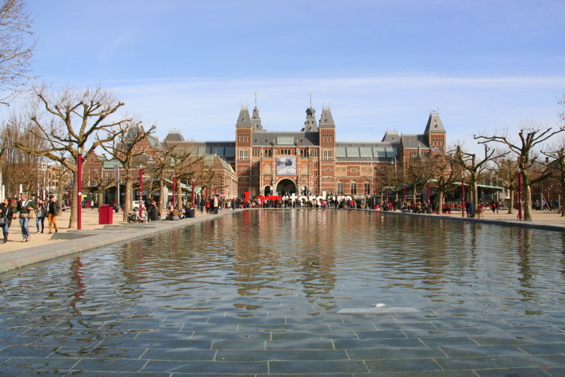 No trip to Amsterdam is complete without a visit to the IAmsterdam sign outside of the Rijksmuseum - the largest museum in Amsterdam and a definite tourist spot
