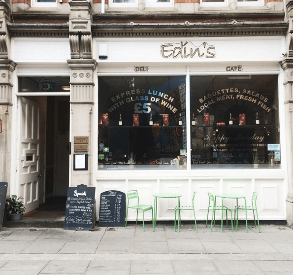 Edin's in Hockley, Nottingham, is one of the best places to grab a coffee in this city - relaxed, mediterranean vibe and great coffee and cake selection. lunch time meal deal nottingham. Cheap lunch nottingham. Best cafes Nottingham city centre.