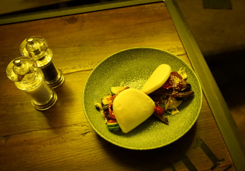 The bao buns would definitely make the best lunch in Nottingham.