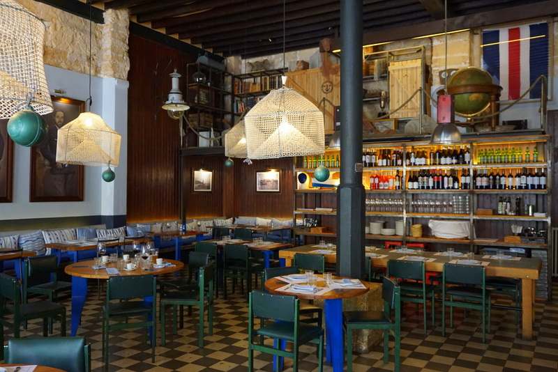 Patron Lunares in Santa Catalina is a bib gourmand restaurant in Palma. Some of the best food and a great twist on Mallorcan cuisine - my favourite place to eat in Palma, a definite highlight.