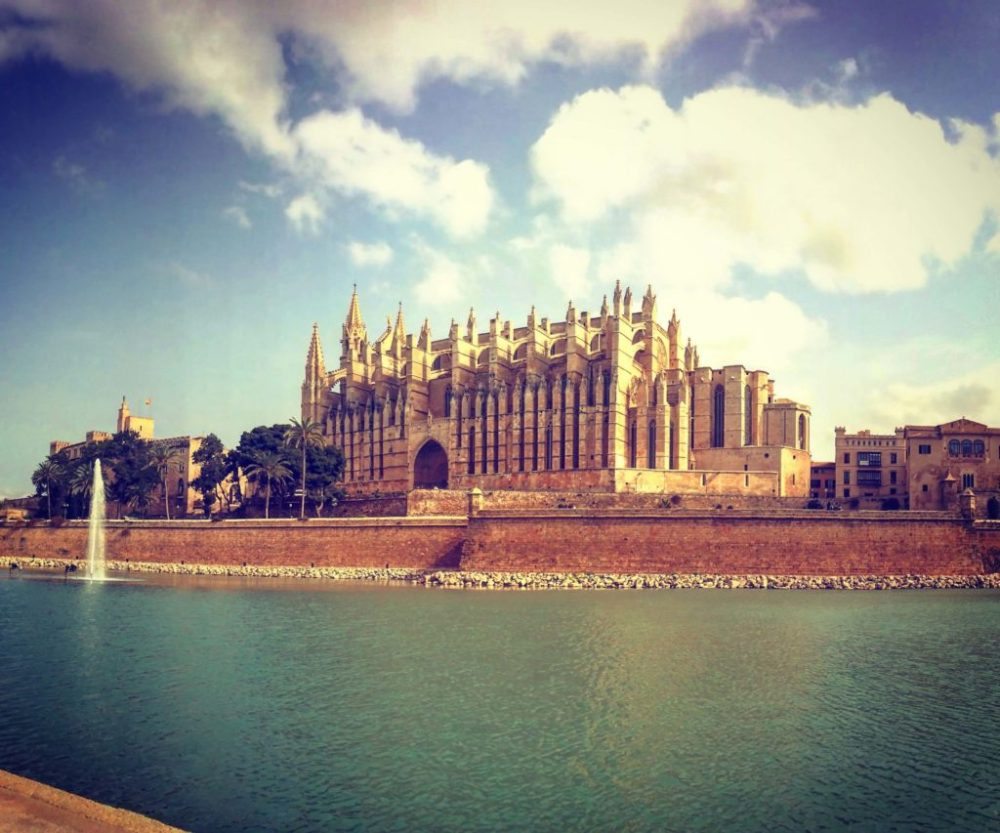 La Seu, in the top 10 things to see and do in Palma - a beautiful piece of architecture by Gaudi. One of the highlights of a trip to Palma