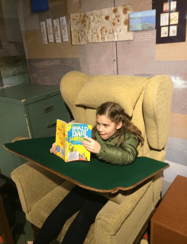 Roald Dahl children books are famous the world over but have you ever had the opportunity to sit in his chair? The roald dahl hut is one of the highlights of the Roald Dahl museum in Great Missenden