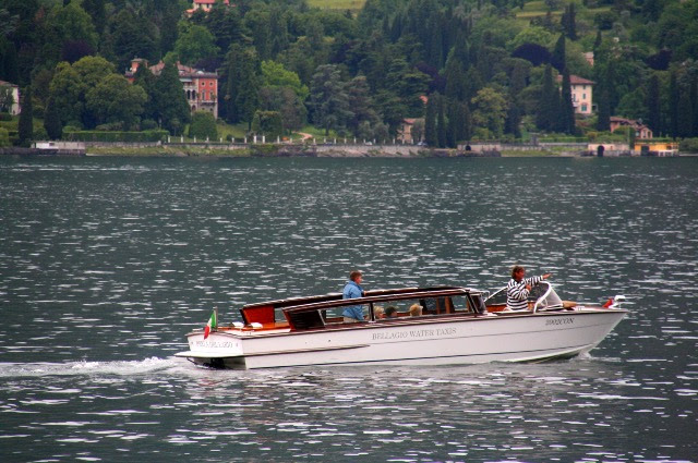 famous people spotting on Lake como