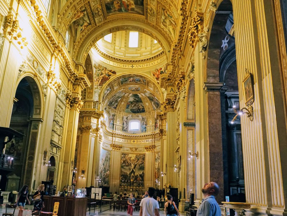 The prettiest church in Rome? The most amazing church in Rome? a must see place