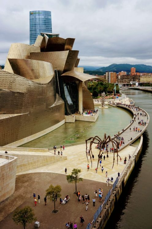 The Guggenheim - one of the top attractions in Bilbao