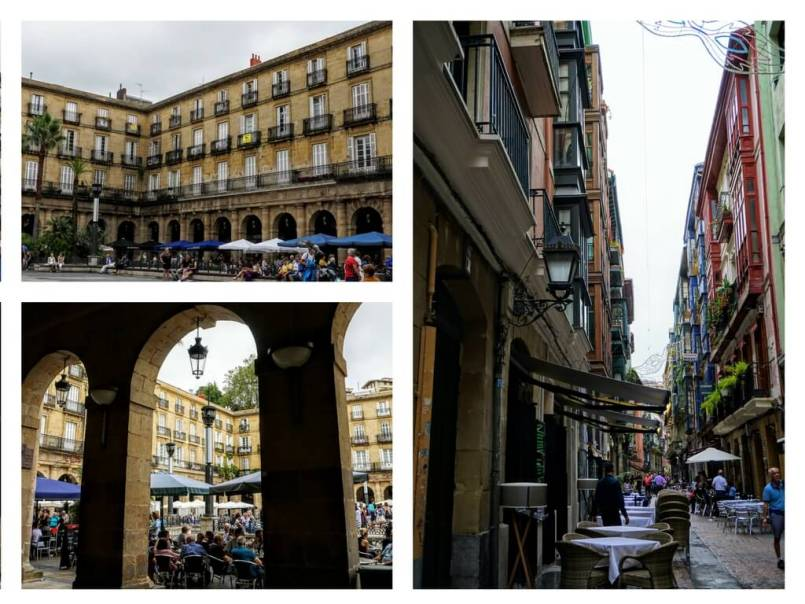 What to see in Casa Viejo or the old town of Bilbao
