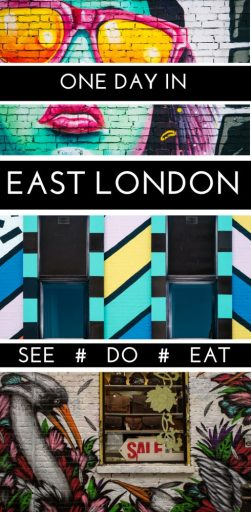 There are loads of things to do in Spitalfields and the Brick Lane area, East London. Explore a ton of hidden gems and some of the best markets, food and street art in all of London - a definite bucket list for your London itinerary. #London #Spitalfields #Bricklane #Shoreditch