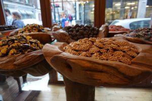 chocolate shop on Brick Lane