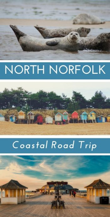 A North Norfolk Road Trip itinerary from Overstrand to Hunstanton - all the points of interest, prettiest villages and breathtaking natural beauty, plus a few interesting historical facts thrown in for your enjoyment! A great idea for a coastal road trip in England, UK. #Norfolk #northnorfolk #eastanglia #ukroadtrip #england