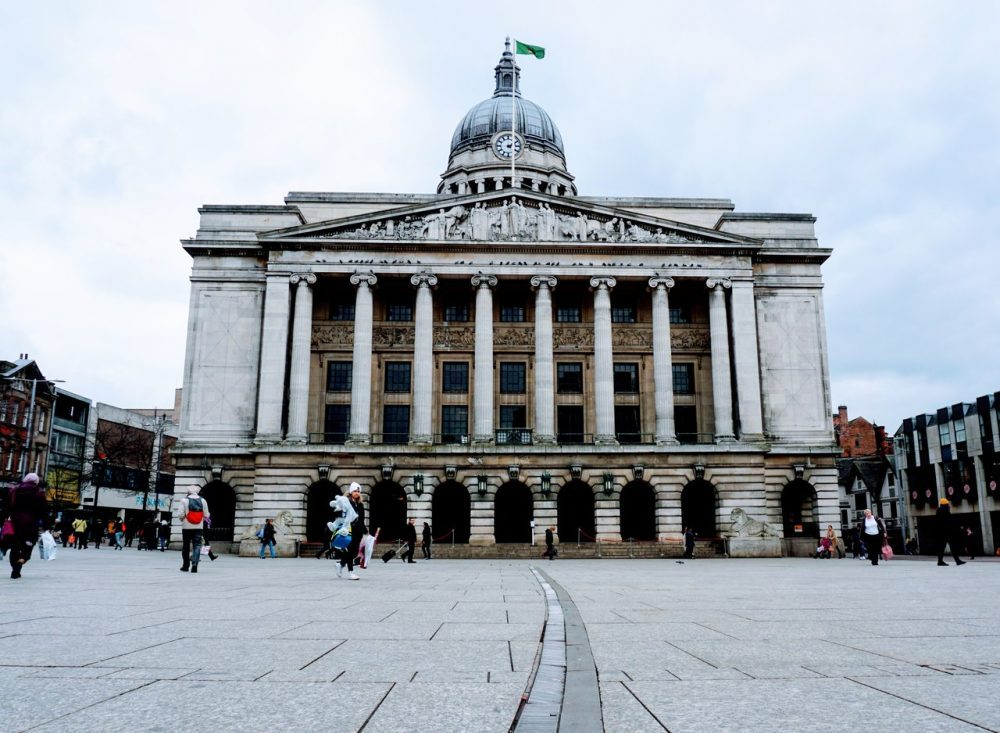 Council House - Nottingham land mark on free self guided walking tour
