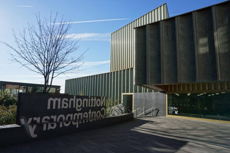 Things to do in Nottingham - visit the Contemporary art gallery
