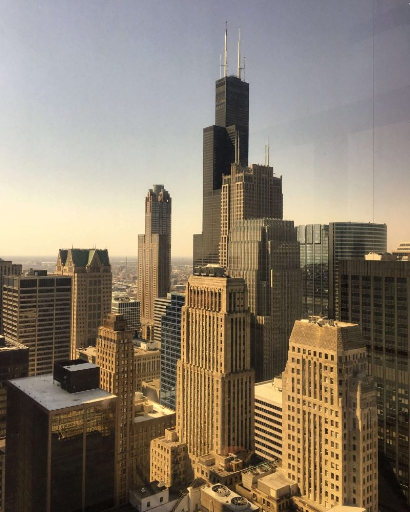 The best free view in Chicago that's not the Sky deck