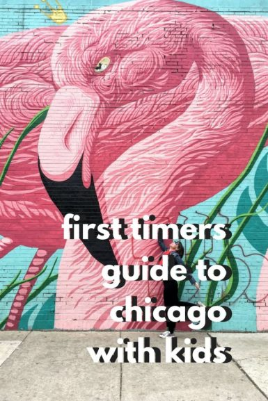 A 2 day itinerary for Chicago with kids - all the best attracions, museums, parks and places to eat for families. #chicago #ilinois #usa #kids #thingstodo