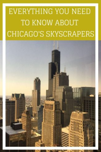 Discover some interesting stuff about Chicago and it's famous skyscrapers and architecture. If you're looking for things to do in Chicago then an architecture tour is a must. #chicago #skyscrapers #famousbuildings