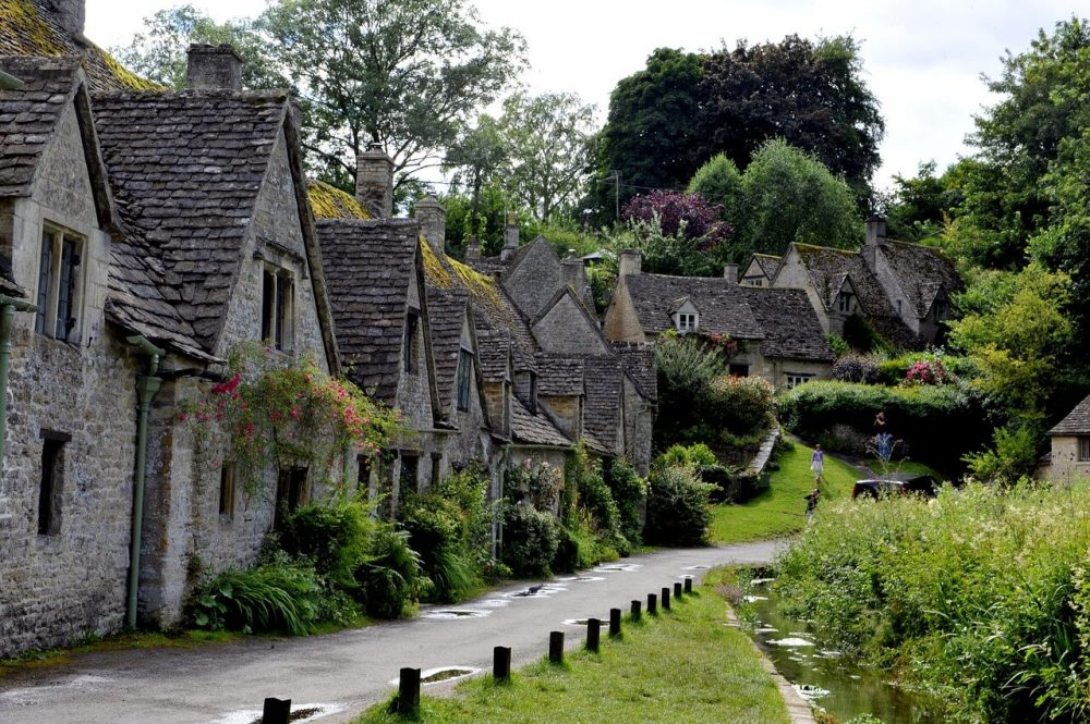 Arlington Row - pretty places in England
