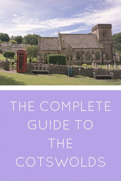 The Cotswolds 'must see' towns and villages - a complete guide, all the highlights and where you need to go in this most beautiful part of England. #Cotswolds #England #daytrip #uk #london
