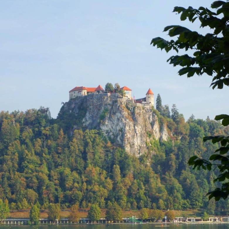 Bled Castle is one of the best things to do at Lake Bled