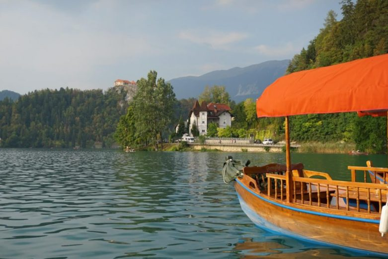 Villa Istra on Lake Bled in Slovenia is one of the best location hotels on the lake - great views, beautifully decorated and cheap compared to other hotels