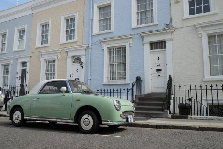 Notting Hill is one of the best districts of London to find photo spots