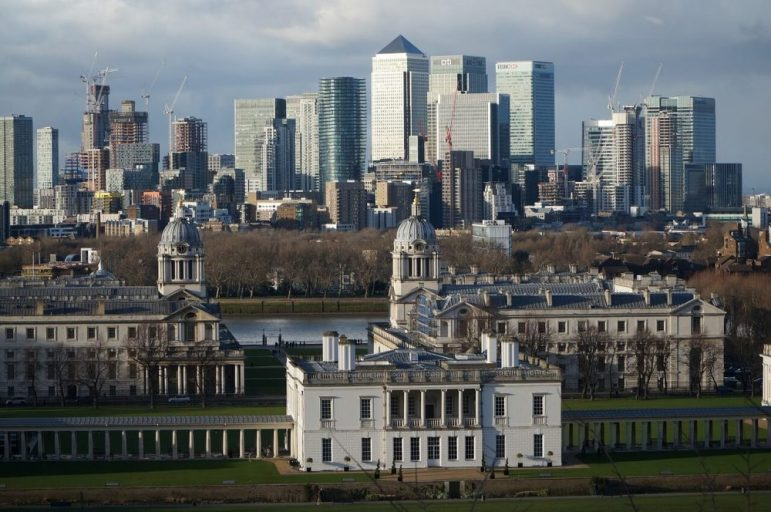 searching for the best views of the London city skyline? Make your way to Greenwich Royal Park for the best vista over the city of London.