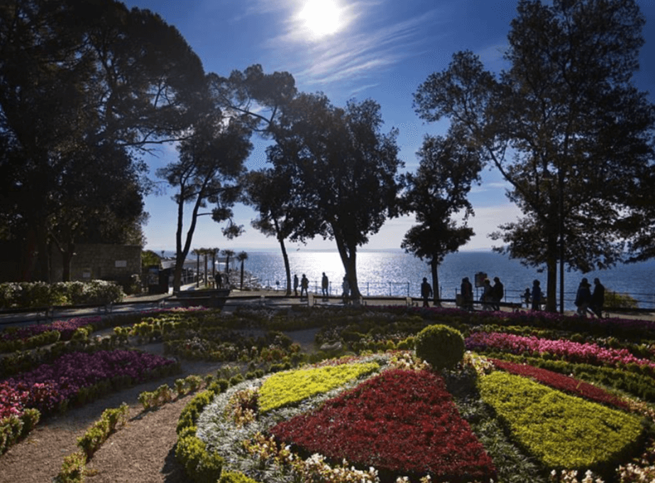 Things to see and do in Opatija? Take a stroll through Park Angiolina or St James Park with views of the ocean