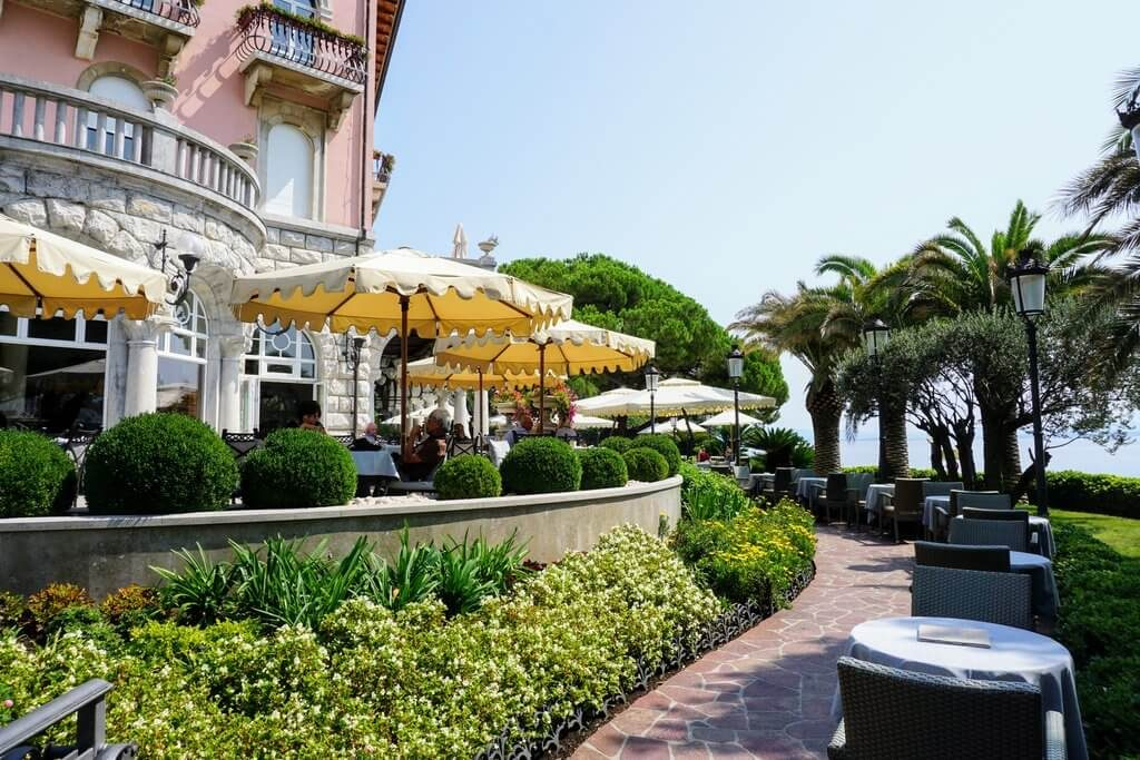 Things to do in Opatija - have a famous truffle at Cafe Wagner with a sea view