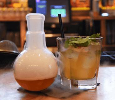 Alchemist coolest cocktail bar nottingham