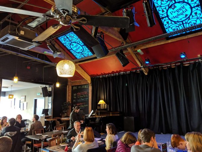 Peggy's Skylight, one of the coolest jazz clubs in nottingham