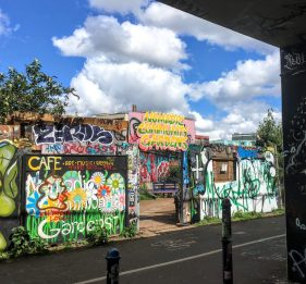 Brick Lane Nomadic Community Gardens - a real hidden gem off the beaten path in London