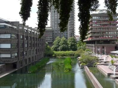 barbican centre in London - a quiet little spot