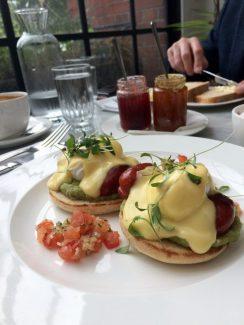 pretty restaurant London - instagram food